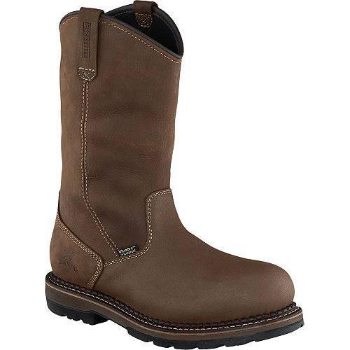 IRISH SETTER メンズ 2.0 ブーツ 【 Mens Ramsey 2.0 11 Pull-on Waterproof Aluminum Toe Work Boots 】 Brown