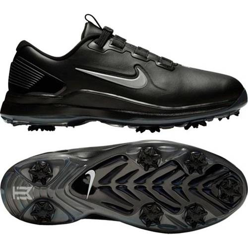 ナイキ NIKE メンズ ゴルフ スニーカー 運動靴 【 Mens Tw71 Fastfit Golf Shoes 】 Black/silver