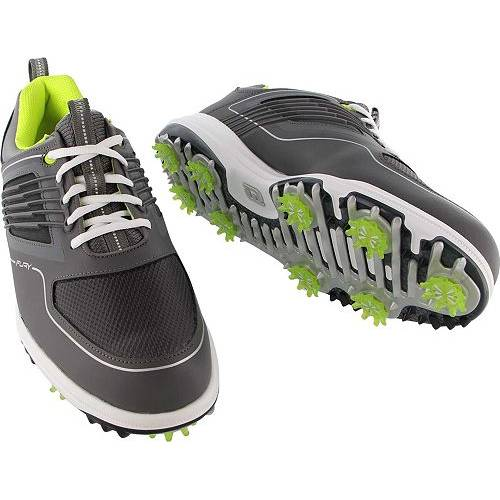 FOOTJOY ゴルフ スニーカー 運動靴 灰色 グレ MEN'S スニーカー 【 GOLF FOOTJOY FURY SHOES GREY LIME 】 メンズ スニーカー