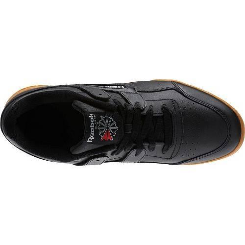 リーボック REEBOK メンズ ワークアウト スニーカー 運動靴 【 Mens Workout Plus Shoes 】 Black/gum