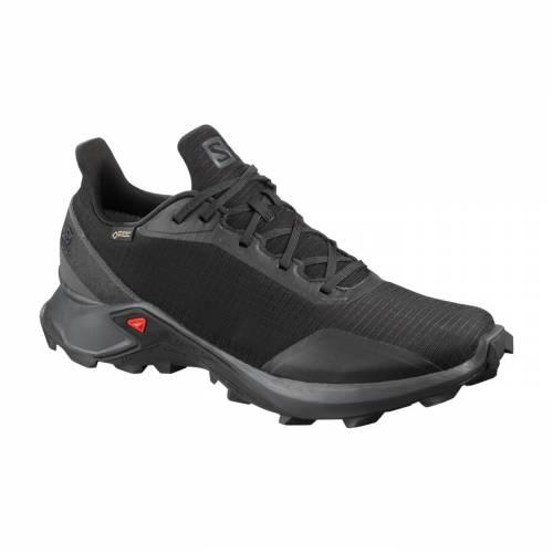 サロモン SALOMON メンズ スニーカー 運動靴 【 Mens Alphacross Gtx Trail Running Shoes 】 Black/black
