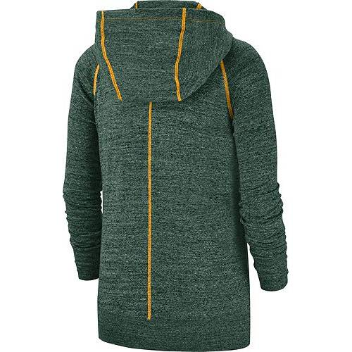 ナイキ NIKE レディース 緑 グリーン パッカーズ ビンテージ ヴィンテージ レディースファッション トップス パーカー 【 Womens Green Bay Packers Vintage Green Full-zip Hoodie 】 Color