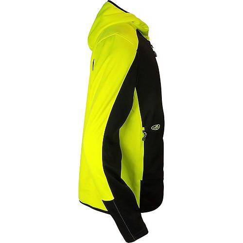 ARBORWEAR メンズ メンズファッション トップス パーカー 【 Mens Thermogen Insulated Full Zip Hoodie (regular And Big And Tall) 】 Black/safety Yellow