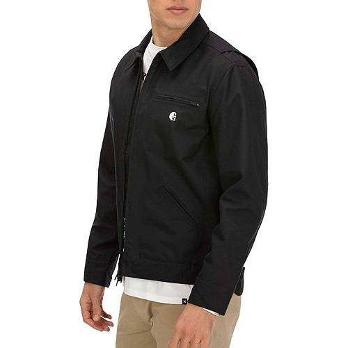 HURLEY ハーレー デトロイト 黒 ブラック MEN'S 【 BLACK HURLEY CARHARTT X DETROIT JACKET 】 メンズファッション コート ジャケット
