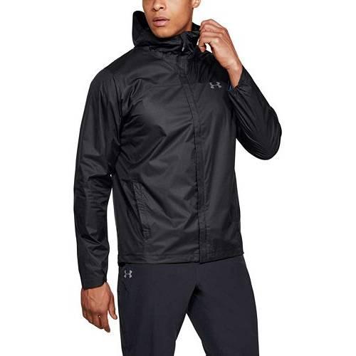 アンダーアーマー UNDER ARMOUR メンズ シェル メンズファッション コート ジャケット 【 Mens Overlook Shell Rain Jacket (regular And Big And Tall) 】 Black