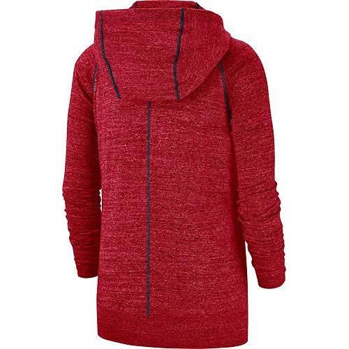 ナイキ NIKE レディース ヒューストン テキサンズ ビンテージ ヴィンテージ 赤 レッド レディースファッション トップス パーカー 【 Womens Houston Texans Vintage Red Full-zip Hoodie 】 Color