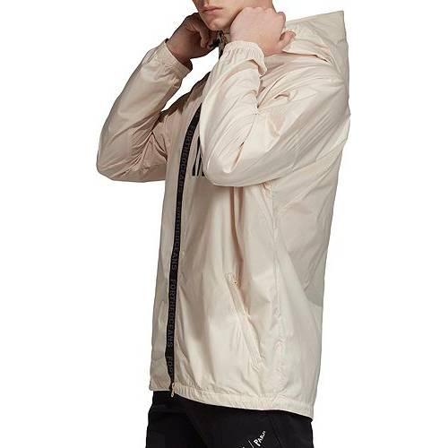 アディダス ADIDAS メンズ ウィンドブレーカー W.n.d メンズファッション コート ジャケット 【 Mens W.n.d Parley Windbreaker Jacket 】 Linen