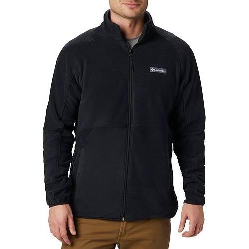 コロンビア COLUMBIA メンズ フリース メンズファッション コート ジャケット 【 Mens Basin Trail Fleece Full Zip Jacket 】 Black