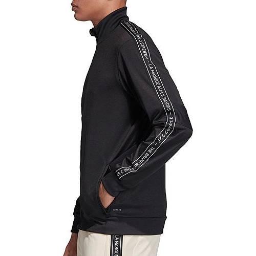 アディダス ADIDAS メンズ トレーニング メンズファッション コート ジャケット 【 Mens Tiro 19 Tape Training Jacket (regular And Big And Tall) 】 Black/black/white
