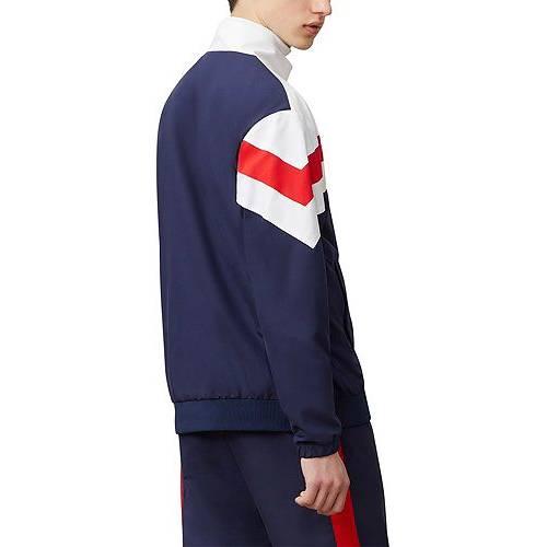 フィラ FILA メンズ トラック メンズファッション コート ジャケット 【 Mens Slade Track Jacket 】 White