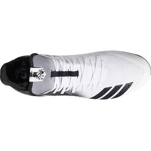 アディダス ADIDAS アイコン メタル ベースボール 黒 ブラック 白 ホワイト MEN'S スニーカー 【 BLACK WHITE ADIDAS ICON 4 SPLASH METAL BASEBALL CLEATS 】 メンズ スニーカー