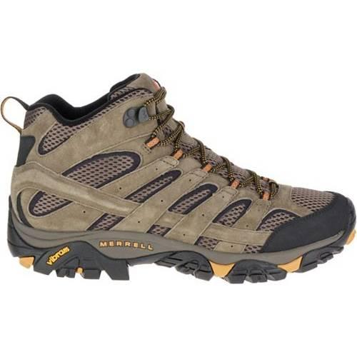 MERRELL メンズ ミッド ブーツ 【 Mens Moab 2 Ventilator Mid Hiking Boots 】 Walnut