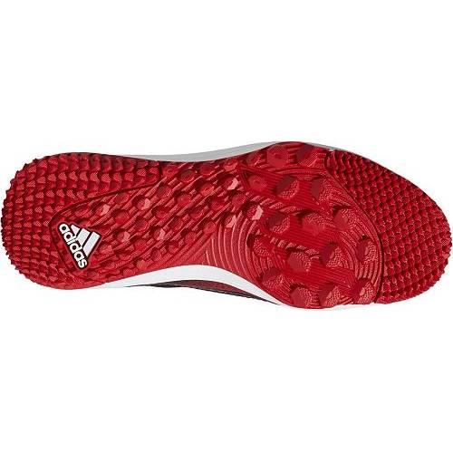 アディダス ADIDAS アイコン ベースボール ターフ スニーカー 運動靴 赤 レッド 黒 ブラック MEN'S スニーカー 【 RED BLACK ADIDAS ICON V TF BASEBALL TURF SHOES 】 メンズ スニーカー