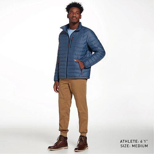 ALPINE DESIGN メンズ ダウン メンズファッション コート ジャケット 【 Mens Sequoia Ridge Down Jacket 】 Insignia Blue Heather