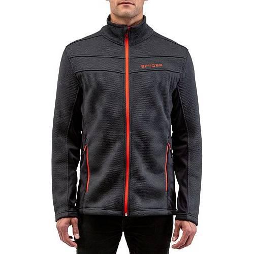 SPYDER メンズ フリース メンズファッション コート ジャケット 【 Mens Encore Full Zip Fleece Jacket 】 Black