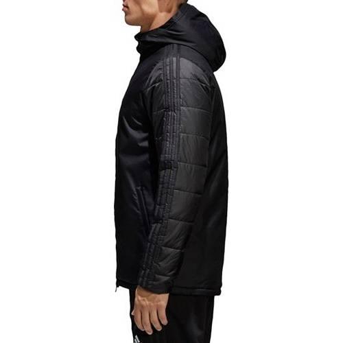 アディダス ADIDAS メンズ サッカー ウィンター メンズファッション コート ジャケット 【 Mens Soccer Winter 18 Jacket 】 Black/white