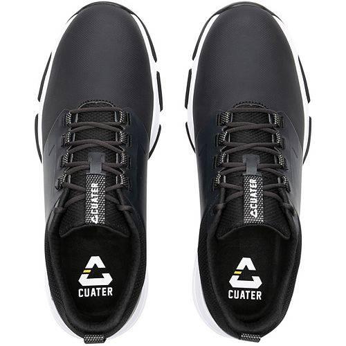 TRAVISMATHEW メンズ ゴルフ スニーカー 運動靴 【 Cuater By Mens The Ringer Golf Shoes 】 Black