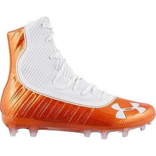 アンダーアーマー UNDER ARMOUR メンズ ハイライト スニーカー 【 Mens Highlight Mc Football Cleats 】 Orange/white