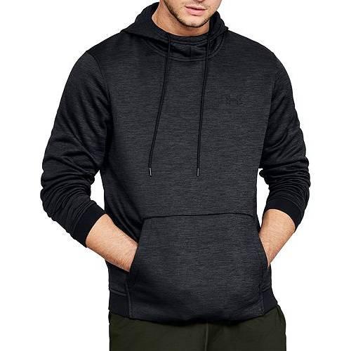 アンダーアーマー UNDER ARMOUR メンズ フリース メンズファッション トップス パーカー 【 Mens Armour Fleece Twist Print Hoodie (regular And Big And Tall) 】 Black/black
