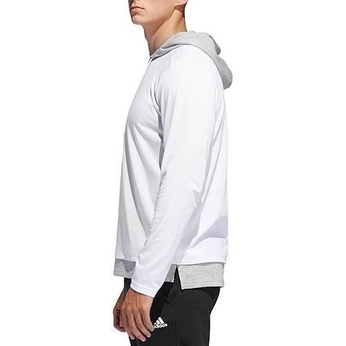 アディダス ADIDAS メンズ ストリート メンズファッション トップス パーカー 【 Mens Sport To Street Hoodie (regular And Big And Tall) 】 White/mgh