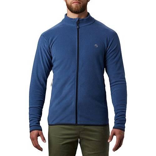 MOUNTAIN HARDWEAR メンズ メンズファッション コート ジャケット 【 Mens Macrochill Full Zip Jacket 】 Better Blue