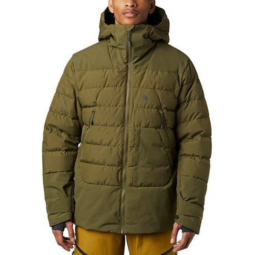 MOUNTAIN HARDWEAR メンズ ノース ダウン メンズファッション コート ジャケット 【 Mens Direct North Gore-tex Windstopper Down Jacket 】 Combat Green