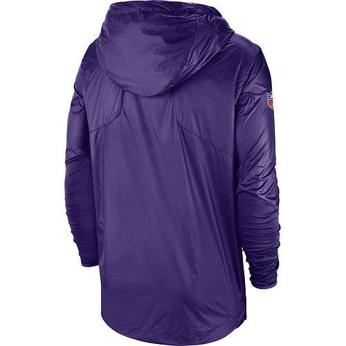ナイキ NIKE メンズ ミネソタ バイキングス サイドライン 紫 パープル メンズファッション コート ジャケット 【 Mens Minnesota Vikings Sideline Repel Player Purple Jacket 】 Color