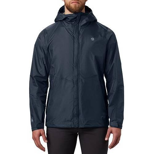 MOUNTAIN HARDWEAR メンズ メンズファッション コート ジャケット 【 Mens Acadia Jacket 】 Dark Zinc