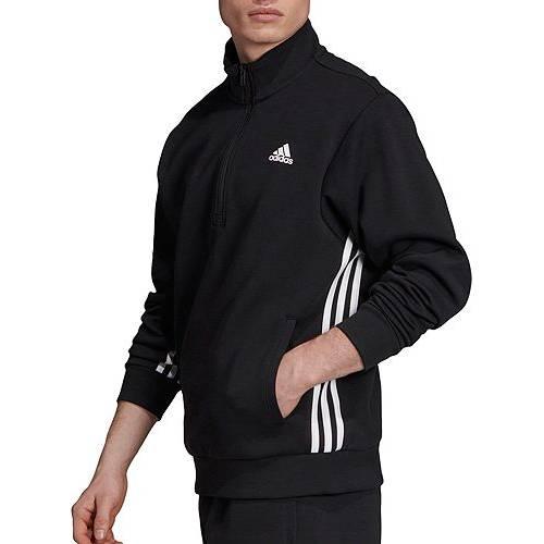 アディダス ADIDAS メンズ トラック メンズファッション コート ジャケット 【 Mens Must Haves 3-stripes Track Jacket 】 Black/white