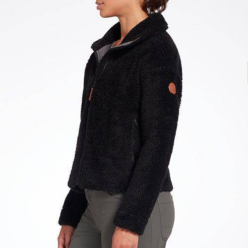 【★スーパーセール中★ 6/11深夜2時迄】ALPINE DESIGN レディース 【 Womens Talia Ridge Sherpa Jacket 】 Pure Black