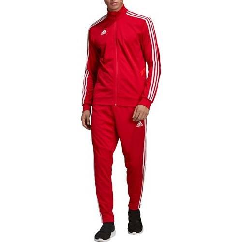 アディダス ADIDAS メンズ トレーニング メンズファッション コート ジャケット 【 Mens Tiro 19 Training Jacket 】 Power Red/red/white