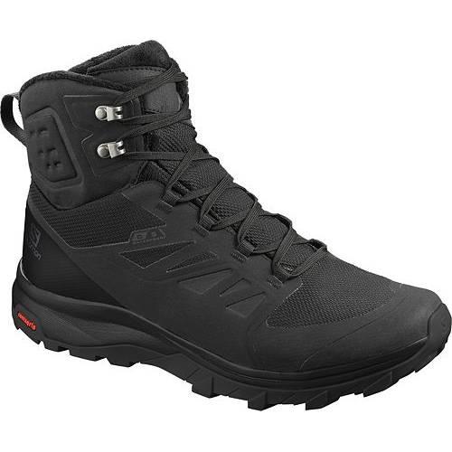 サロモン SALOMON メンズ ウィンター ブーツ 【 Mens Outblast 200g Waterproof Winter Boots 】 Black/black