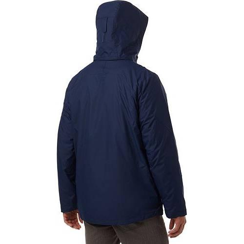 コロンビア COLUMBIA メンズ エア メンズファッション コート ジャケット 【 Mens Eager Air Interchange Jacket (regular And Big And Tall) 】 Collegiate Navy
