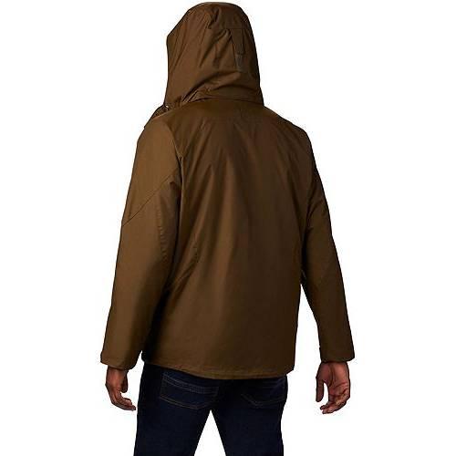 コロンビア COLUMBIA メンズ エア メンズファッション コート ジャケット 【 Mens Eager Air Interchange Jacket (regular And Big And Tall) 】 Olive Green