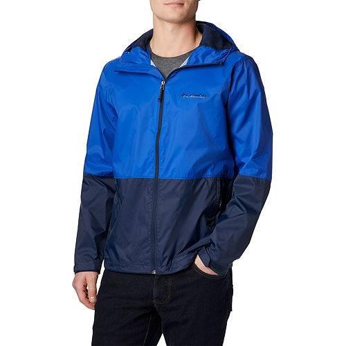 コロンビア COLUMBIA メンズ メンズファッション コート ジャケット 【 Mens Roan Mountain Rain Jacket 】 Azul/collegiate Navy