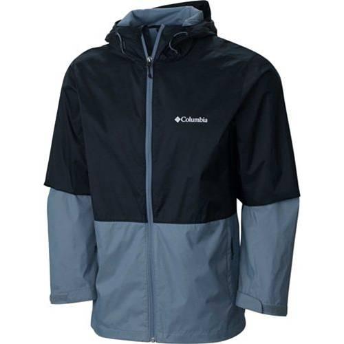 コロンビア COLUMBIA メンズ メンズファッション コート ジャケット 【 Mens Roan Mountain Rain Jacket 】 Black/grey Ash
