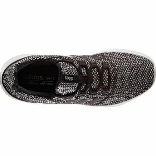 アディダス ADIDAS メンズ アルティメイト スニーカー 運動靴 【 Mens Cloudfoam Ultimate Shoes 】 Black/white/grey