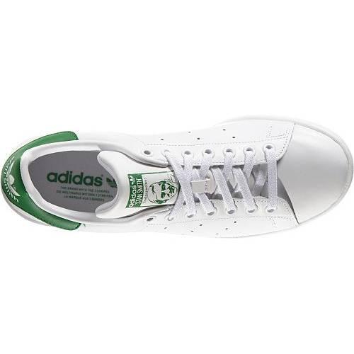 アディダス ADIDAS スニーカー 運動靴 白 ホワイト 緑 グリーン MEN'S スニーカー 【 WHITE GREEN ADIDAS ORIGINALS STAN SMITH SHOES 】 メンズ スニーカー