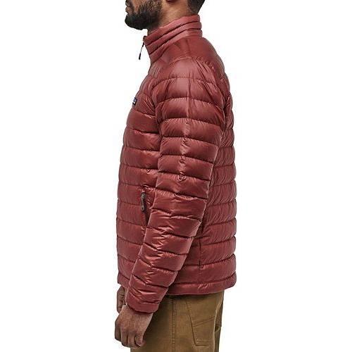 パタゴニア PATAGONIA ダウン 赤 レッド MEN'S 【 RED PATAGONIA DOWN SWEATER JACKET OXIDE 】 メンズファッション コート ジャケット