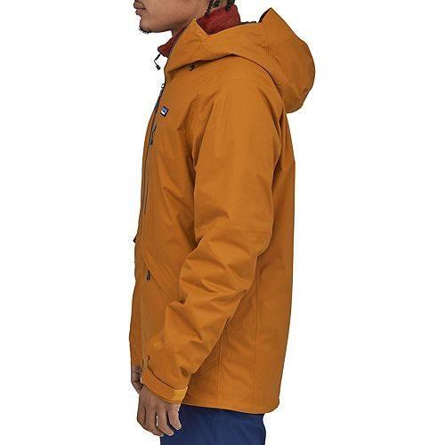 PATAGONIA メンズ メンズファッション コート ジャケット 【 Mens Snowshot Insulated Jacket 】 Hammonds Gold