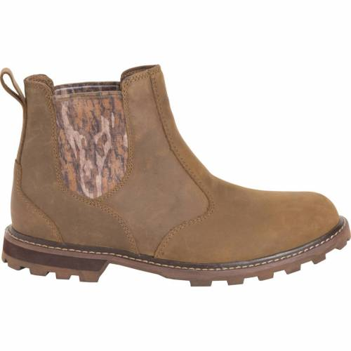 MUCK BOOTS メンズ スニーカー 【 Muck Mens Chelsea Mossy Oak Casual Boots 】 Taupe