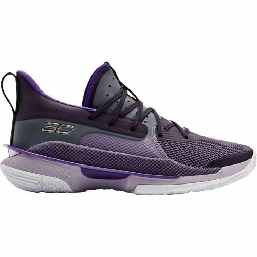 アンダーアーマー UNDER ARMOUR カリー バスケットボール スニーカー 運動靴 メンズ 【 Curry 7 Bamazing Basketball Shoes 】 Purple