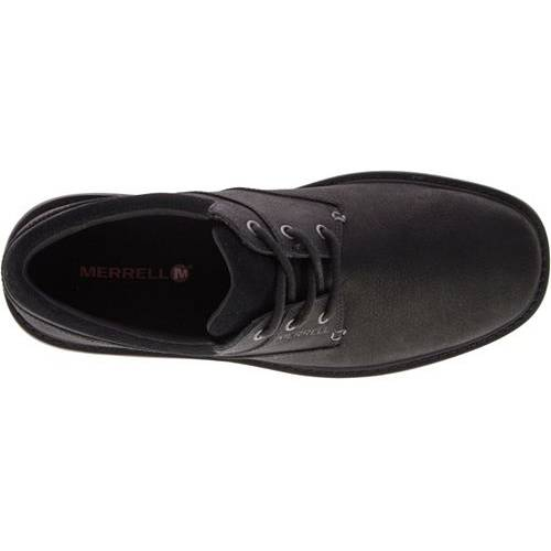 MERRELL メンズ スニーカー 運動靴 【 Mens World Vue Lace Casual Shoes 】 Black