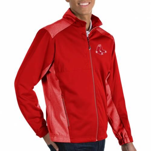 ANTIGUA メンズ ボストン 赤 レッド メンズファッション コート ジャケット 【 Mens Boston Red Sox Revolve Full-zip Jacket 】 Color