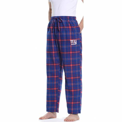 CONCEPTS SPORT ジャイアンツ アルティメイト MEN'S 【 ULTIMATE CONCEPTS SPORT NEW YORK GIANTS FLANNEL PANTS COLOR 】 メンズファッション ズボン パンツ
