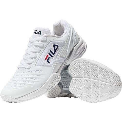 フィラ FILA メンズ テニス スニーカー 【 Mens Axilus 2 Energized Tennis Shoe 】 White/white