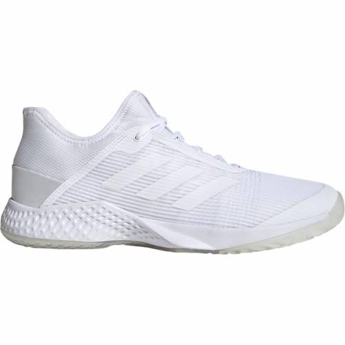 アディダス ADIDAS アディゼロ クラブ テニス スニーカー 運動靴 白 ホワイト MEN'S スニーカー 【 WHITE ADIDAS ADIZERO CLUB 2 TENNIS SHOES 】 メンズ スニーカー