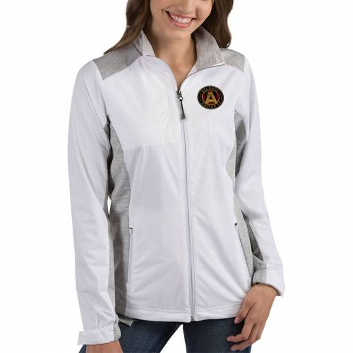 ANTIGUA レディース アトランタ 白 ホワイト 【 Womens Atlanta United Revolve White Full-zip Jacket 】 Color