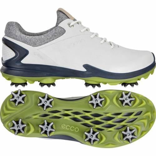 エコー ECCO メンズ ゴルフ スニーカー 運動靴 【 Mens Biom G 3 Golf Shoes 】 Shadow White/dark Petrol
