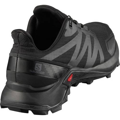 サロモン SALOMON メンズ スニーカー 運動靴 【 Mens Supercross Trail Running Shoes 】 Black/black